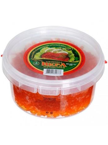 Икра красная лососевая кета охлажденная Россия Камчатка - СОРТ СТАНДАРТ контейнер 500 грамм.