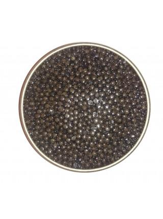 Черная икра сибирского осетр  250 г Империал