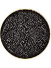 Черная осетровая икра севрюги дикого вылова - забойная Imperial - Империал Каспийская 500 грамм жесть банка