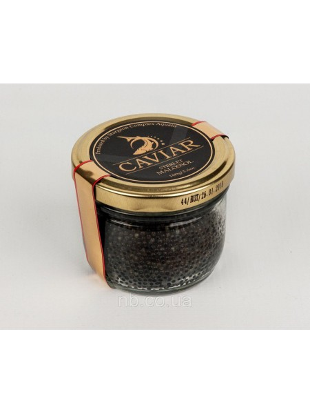 Икра черная осетровая стерляди 100 г Aquatir