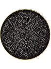 Черная осетровая икра севрюжья дикого вылова - забойная Imperial Каспийская 100 грамм жесть банка